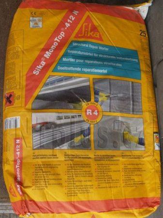 Sika MonoTop-412 N (25 kg) szerkezeti betonjavító anyag