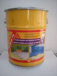 SikaBond-T8 (13,4 kg) rugalmas poliuretán vízszigetelés + ragasztó