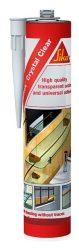 Sikaflex 112 Crystal Clear átlátszó ragasztó/tömítőanyag (300 ml-es)
